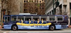 Transit Advertising- advertising placed in or on modes of public transportation or in public transportation areas