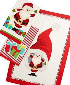 Amazon.com - Martha Stewart Collection Kitchen Towels, Set of 3 Holiday -