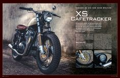 Publication of motogadgets xs650 | Motorcycle Photography Camera: Canon 5Dmk2 Light: Speedlite 580EXII Edit: Photoshop