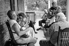Jeanne Keen This is some of men whose families were involved in running the Chesapeake &Ohio Canal in Western Maryland.  On that day they were playing some old bluegrass on the front porch of a house built in the 1800s. I love this kind of stuff. #visualsoflife #womeninphotography #inspiration #photo #photos #pic #pics #picture #photographer #pictures #snapshot #art #beautiful #photoshoot #photodaily