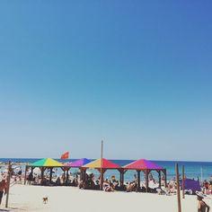 Hey all, Abraham here. Enjoying the sunny, sandy, blue and proud Tel Aviv beaches!