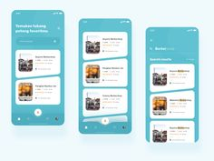 Terpotong - Barbershop App designed by Rahmadhana Ramadan for OWW. Connect with them on Dribbble; Mobile Design, App Design, Ramadan, Connect, Tracking App, Shops, Music App, Ui Design Inspiration, People Illustration