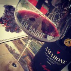 Ein Prosit and Allegrini's Amarone wine