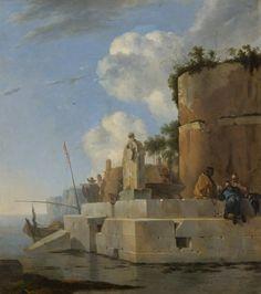 15 Coastal Ruin in Italy Asselijn Rijks