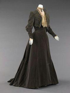 Платье 1860-80.