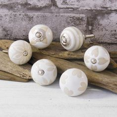 Cream Beige Cupboard Furniture Door Knobs for chest of drawers, wardrobes bedside cabinets. by Pushkaknobs on Etsy https://www.etsy.com/listing/205530952/cream-beige-cupboard-furniture-door