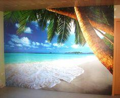 Fototapete Strand Karibik von GREAT ART   https://linasophie77.wordpress.com/2017/01/06/fototapete-strand-karibik-von-great-art/