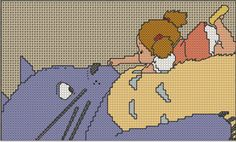 Thrilling Designing Your Own Cross Stitch Embroidery Patterns Ideas. Exhilarating Designing Your Own Cross Stitch Embroidery Patterns Ideas. Beaded Cross Stitch, Counted Cross Stitch Kits, Cross Stitch Embroidery, Cross Stitch Patterns, Totoro, Miyazaki, Hand Embroidery Patterns, Beading Patterns, Stitch Cartoon