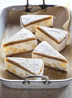 Ricotta and Pear Cake.