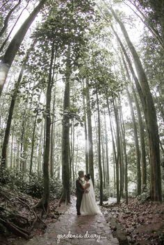 The Pre Wedding moments with Fonni & Ary, taken place in Bandung, Indonesia.