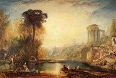 Landscape Composition of Tivoli - William Turner, 1817