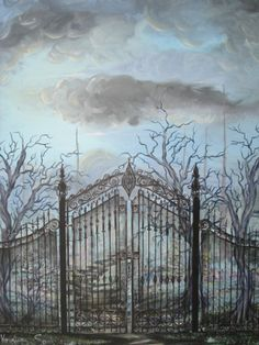 Fantasy Iron Gate Art