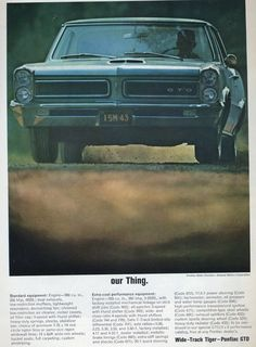 When minimalism (and performance) sold cars – the 1965 Pontiac GTO   Hemmings Daily