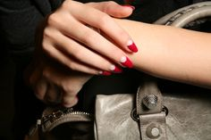 Reverse French manicure at Dior 09