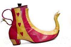 The teapot boot by Pendragon Shoes | photo copyright Bibiana Stanfield at commercialphotography4u