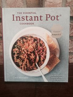 The Essential Instant Pot Cookbook by Coco Morante #bookreview