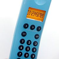 プラスマイナスゼロ コードレス電話機