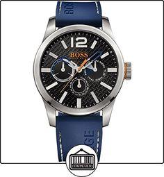Boss Naranja para hombre-reloj analógico de cuarzo silicona Paris Multieye 1513250 de  ✿ Relojes para hombre - (Gama media/alta) ✿