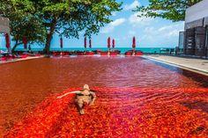 Над пропастью, с крокодилами, с красной водой. Самые удивительные бассейны мира…