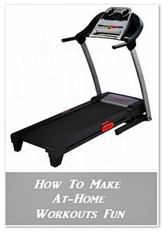 Find out how to make at home workouts fun! #health #fitness #exercise