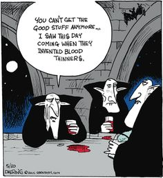 """John Deering's """"Strange Brew"""" is just what the title says -- a mix of strange and humorous observations. Cartoon Jokes, Funny Jokes, Hilarious, Halloween Cartoons, Halloween Fun, Halloween Humor, Halloween Witches, Hump Day Humor, Humor"""
