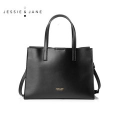 103.95$  Buy now - http://ali3cz.worldwells.pw/go.php?t=32613420047 - JESSIE&JANE New Style Classic All-match Women Leather Handbags Simple Shoulder Bags Crossbody Bags Top-Handle Bags 1370 103.95$