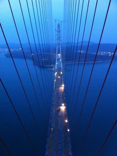 Vladivostok.. my ride home each evening...