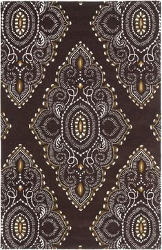 Safavieh Wyndham WYD372B Brown / Ivory Rug
