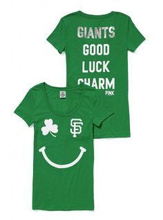 Victoria's Secret Pink® San Francisco Giants St. Patrick's Day Tee ♥... I want the Astros though !