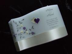 Hochzeitskerzen & Beleuchtung - Hochzeitskerze Welle - ein Designerstück von Kerzenparadies-art-checkpoint bei DaWanda Gin, Projects To Try, Etsy, Hearts, Weddings, Candles, Decorating Candles, Handmade, Gifts