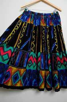Awesome Vintage 80s/90s Amazing Funky Tribal by LipstickDinosaur, $31.00