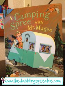 The Dabbling Speechie: Gone Camping-Themed Speech and Language. Books, Ideas, Freebies and More! Pinned by SOS Inc. Resources. Follow all our boards at pinterest.com/sostherapy for therapy resources.