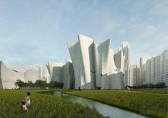 Guangzhou Science Museum - Christian Kerez