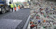 Company Is Using Plastic Bottles To Make Roads That Last Longer Than Asphalt