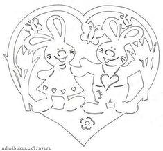 RUČNÍ PRÁCE - JARNÍ - VELIKONOČNÍ VYSTŘIHOVÁNKY 3 Kirigami, Easter Colouring, Coloring Books, Coloring Pages, Easter Art, Easter Crafts, Stencils, Origami And Quilling, Cut Animals