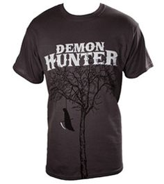 Love this Demon Hunter shirt! Punk Outfits, Cool Outfits, Band Shirts, Tee Shirts, Christian Metal, Vintage Rock T Shirts, Demon Hunter, Concert Tees, Grim Reaper