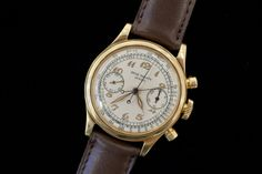 One Of Three Known Patek Philippe Ref. 1563 Split Seconds Chronograph watches
