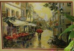 Rain in Paris 1/3