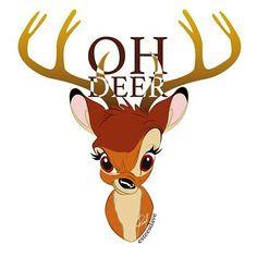 OH Deer 🙄 #Bambi #Disney