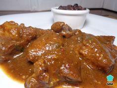 Carne de puerco en salsa de moras #Cocina #Ceramiel