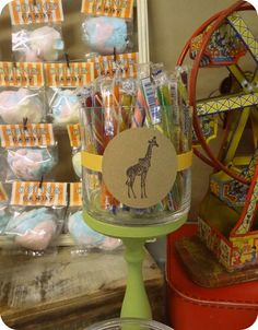 Vintage Carnival Birthday Party Ideas | Photo 3 of 22 | Catch My Party