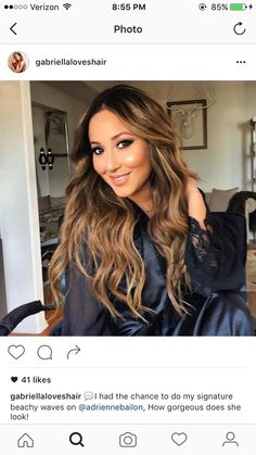Adrienne Bailon hair color