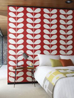 Add #Vibrance to your #HOME with #Wallcoverings from #Harlequin, Orla Kiely,Goodrich