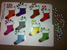 Christmas-Winter File Folder Games. Repinned by SOS Inc. Resources pinterest.com/sostherapy/.
