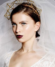 Geometric head band, geometry inspired headbabd, fashion crown, comes  in different colours, statement headpiece, byonce style