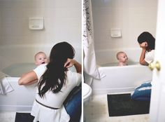 Everyday activities to photograph: bathtime