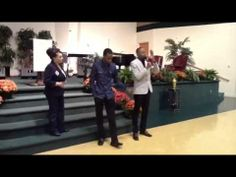 Prophet Hakeem Collins releasing prophetic decrees with Dr. Sharon Stone...