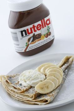 Nutella makes everything delicious