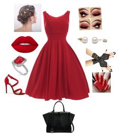 """""""Untitled #16"""" by olivia-186 on Polyvore featuring Fendi, Allurez and Lime Crime"""