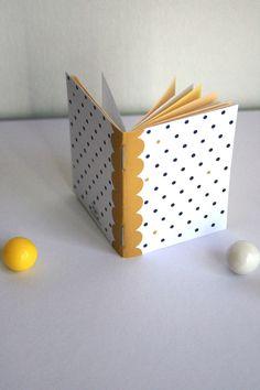 Pois pois dorés - Minuscule carnet illustré format poche : Carnets, agendas par germainecaillou